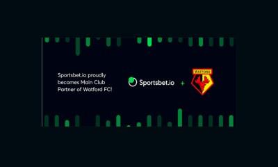 Sportsbet.io lands headline Watford F.C. shirt sponsorship
