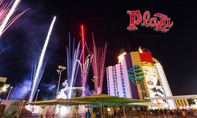 Plaza Hotel & Casino celebrates St. Patrick's Day with green fireworks at 10 p.m., free dome party starting at 7 p.m.