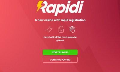 Raketech launches new consumer casino project Rapidi.com