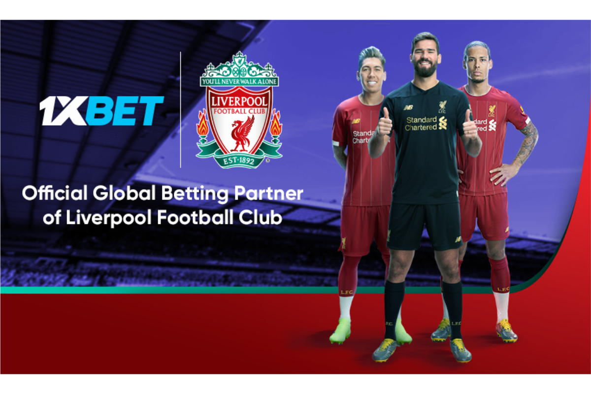 Liverpool FC Signs Deal with 1XBET