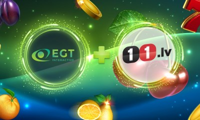 EGT Interactive has penned a deal with the esteemed operator 11.lv