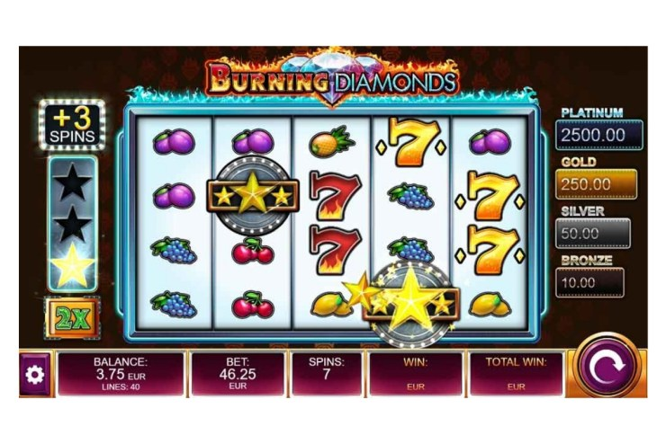 Kalamba Games' Burning Diamonds