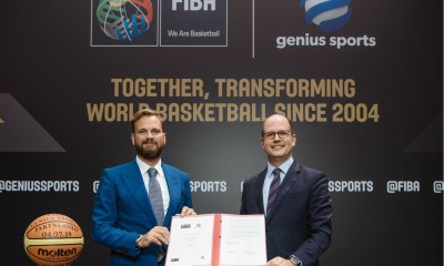 FIBA and Genius Sports announce long-term extension of historic technology partnership