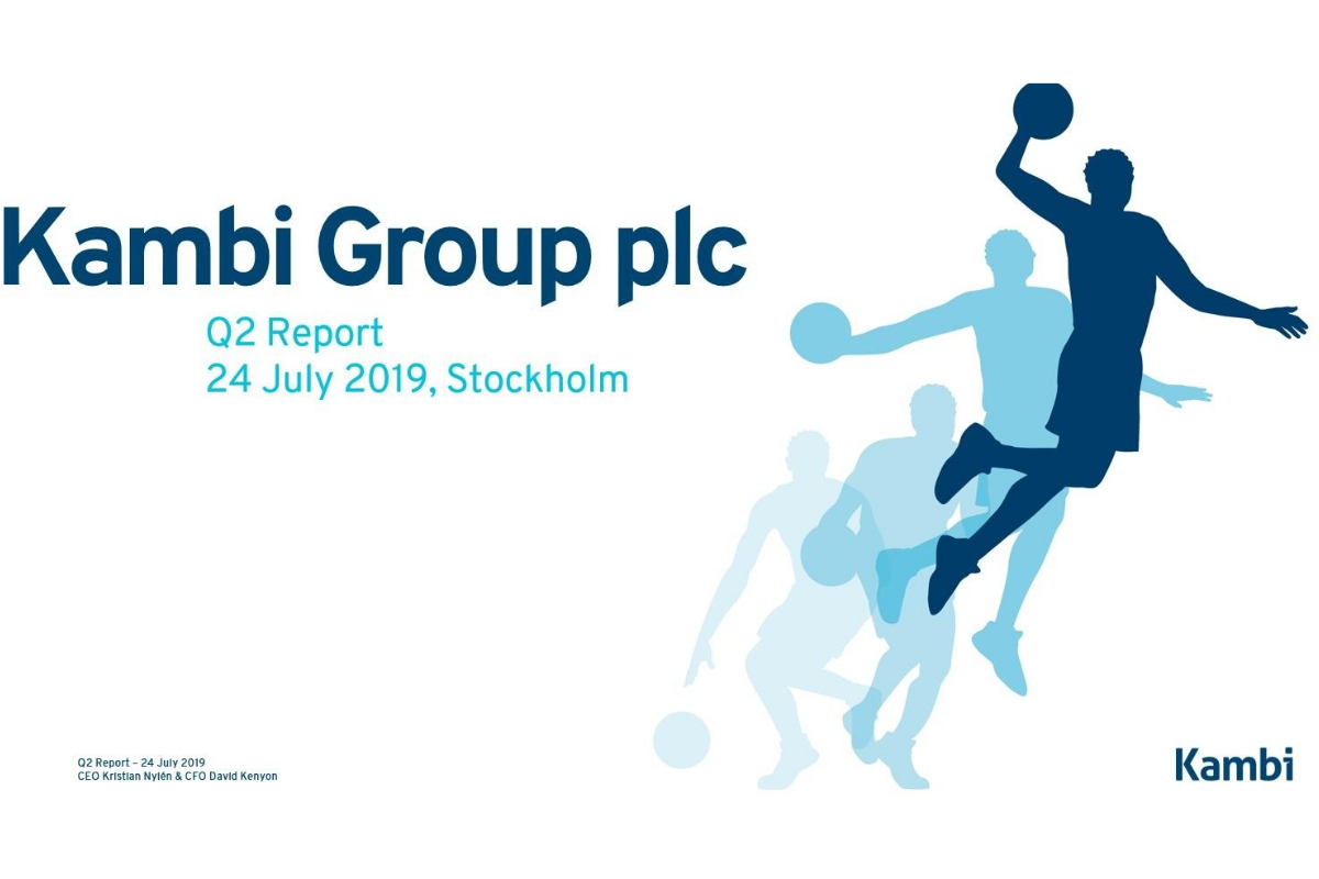 Kambi Group plc Q2 Report 2019