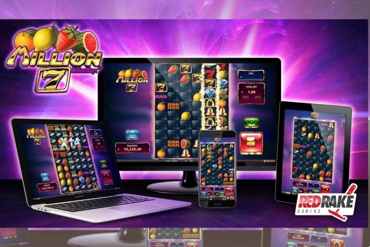 MILLION 7 video slot by Red Rake Gaming