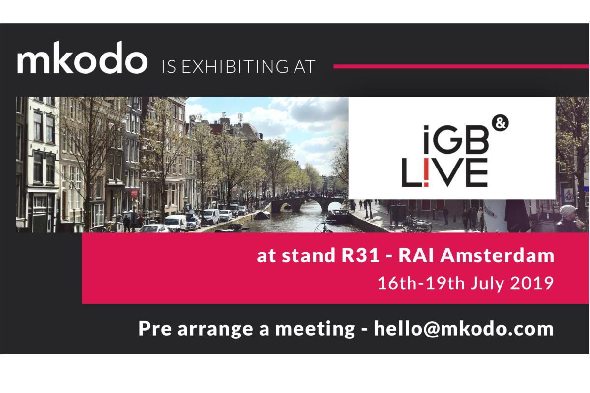 Digital user expert mkodo debuts at iGB Live in Amsterdam
