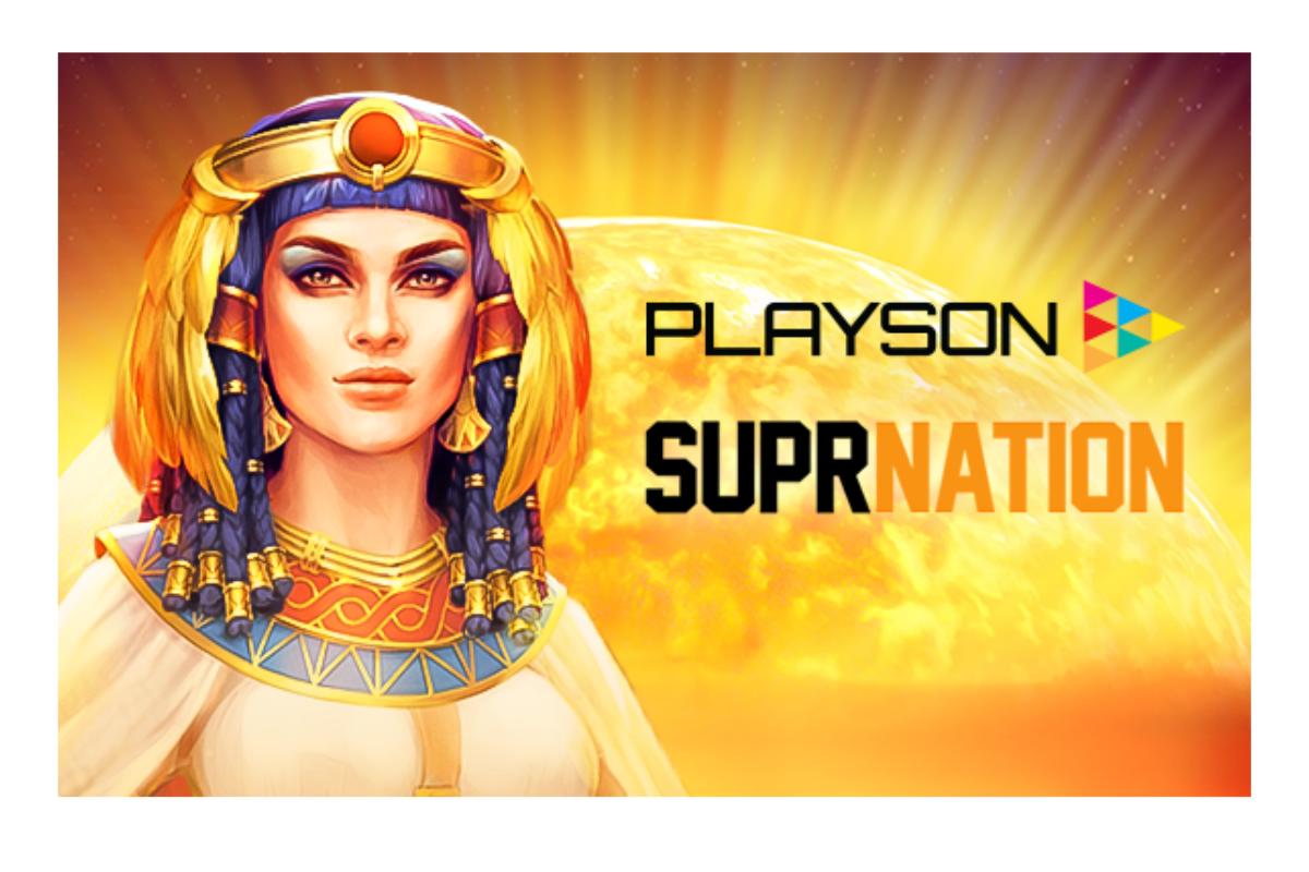 Playson announces SuprNation partnership