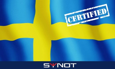SYNOT Games now certified in Sweden