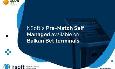 NSoft's Pre-Match Self Managed available on Balkan Bet terminals