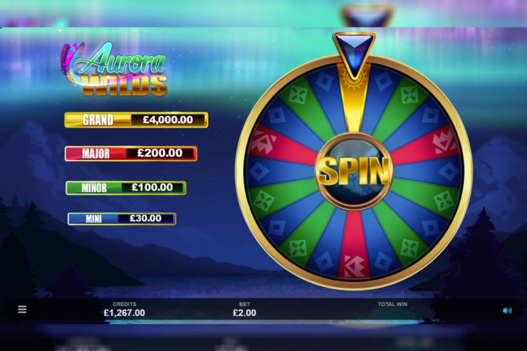 Microgaming follows the Northern Lights in Aurora Wilds