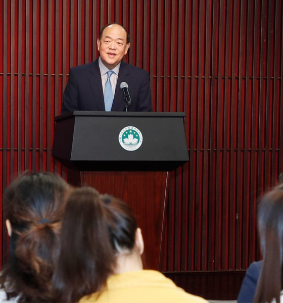 New Chief Executive Promises to protect Macau's Gaming and Tourism Industry