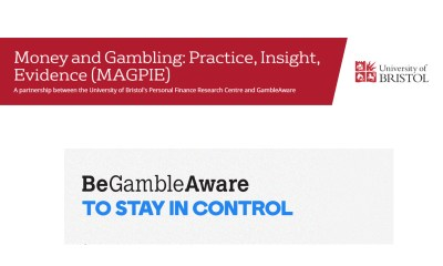 University of Bristol's Personal Finance Research Centre and GambleAware partnership