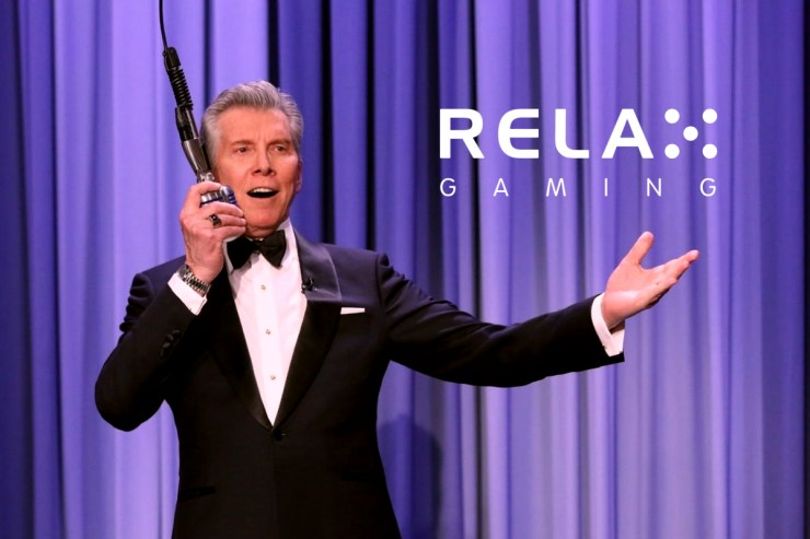 Michael Buffer joins Relax Gaming in the ring for Let's Get Ready To Rumble
