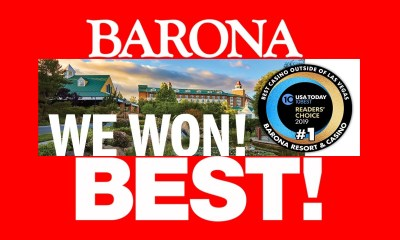 "USA Today Names Barona ""The Best Casino Outside Las Vegas"""