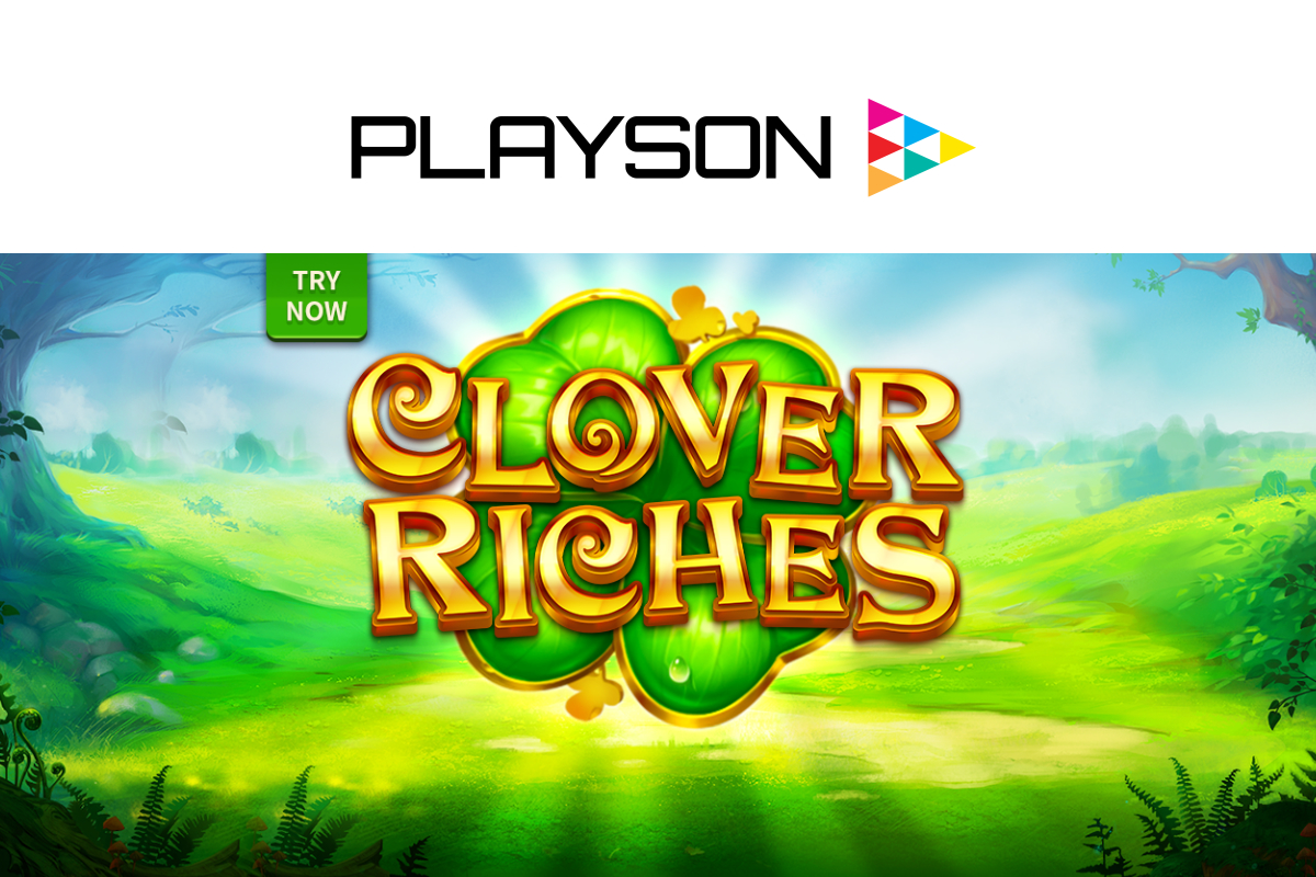 Time to strike it lucky with Playson's Clover Riches