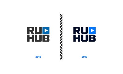 RuHub Studio presents logo restyling and new brand style elements