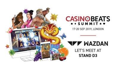 Wazdan Set to Showcase New Slot Titles at CasinoBeats Summit 2019