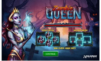 Kalamba Games new slot Zombie Queen
