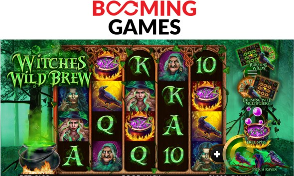 Booming Games presents Witches Wild Brew