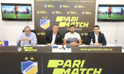 Parimatch And Apoel To Join Forces For The Fourth Consecutive Year
