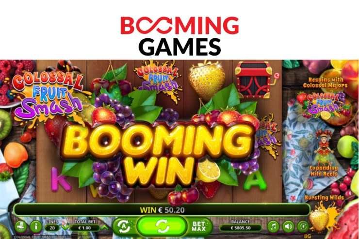 Booming Games-Colossal Fruit Smash