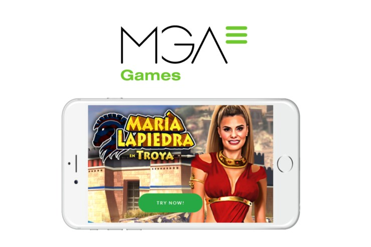 Actress María Lapiedra Appears in Troya by MGA Games