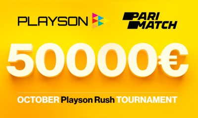 Parimatch launches €50k Playson games tournament