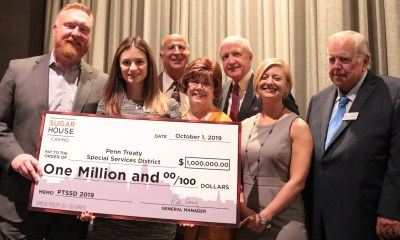 SugarHouse Casino Gives Annual $1 Million Charity Donation to Penn Treaty SSD