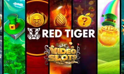Videoslots adds Red Tiger's Jackpot Network