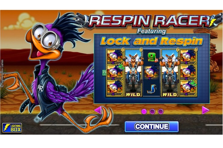 Lightning Box with Respin Racer