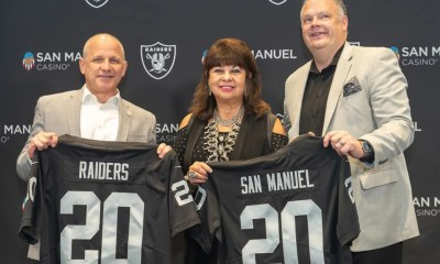 San Manuel Casino Signs On As A Founding Partner Of Allegiant Stadium And Proud Partner Of The Raiders