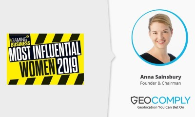 GeoComply's Anna Sainsbury Makes List of iGaming's Most Influential Women of 2019