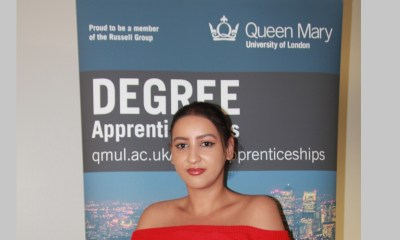 'Making a positive difference': YGAM undergraduate apprentice, Nadia Tarik, reflects on a year studying and working for social change