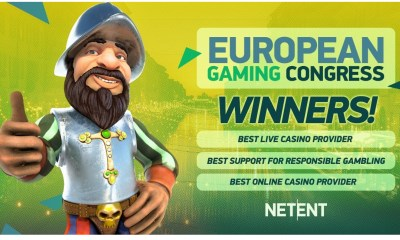 NetEnt scores hattrick at Southern European Gaming (SEG) Awards