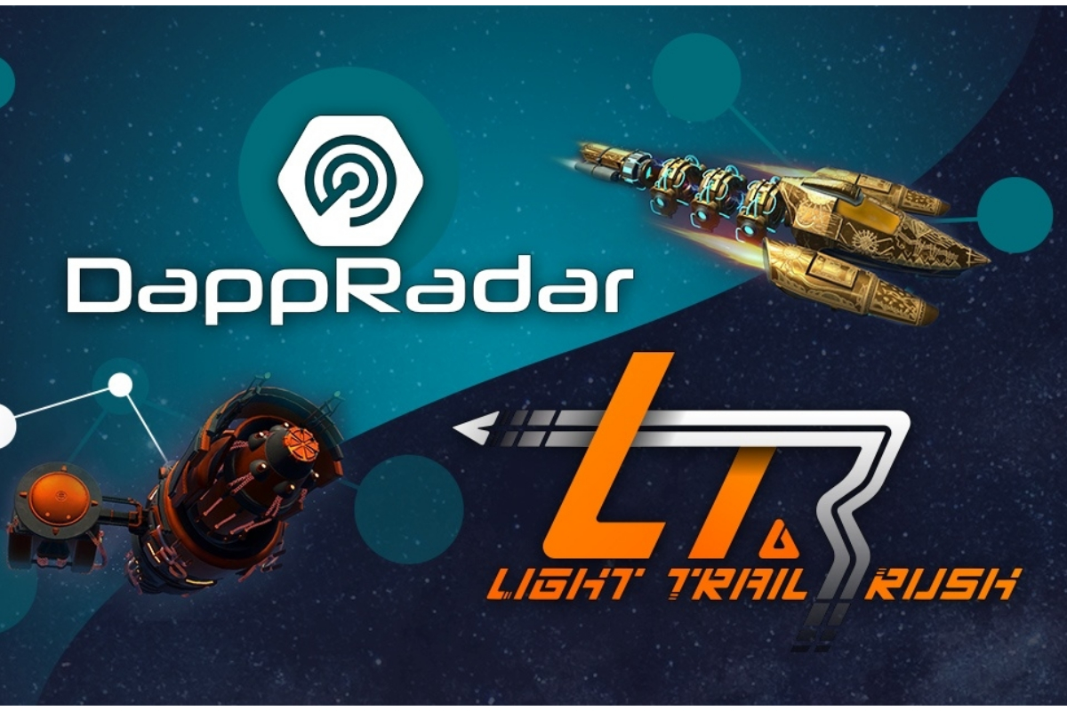 DappRadar and B2Expand join forces to promote Light Trail Rush