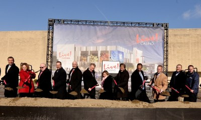 Cordish Celebrates Groundbreaking Ceremony for $150 M Live! Casino