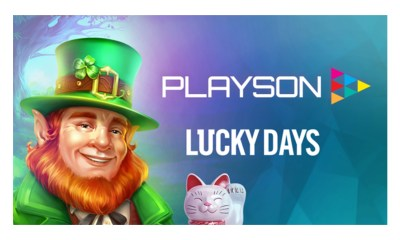 Playson signs content deal with Lucky Days Casino