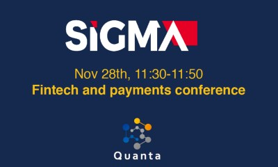 Quanta joins SiGMA, Nov 27th to Nov 29th