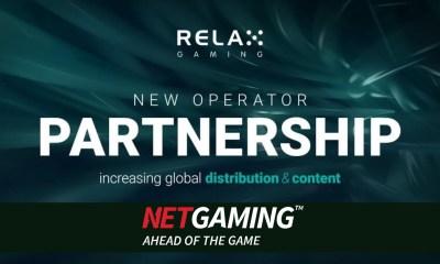 Relax Gaming signs platform partnership with NetGaming