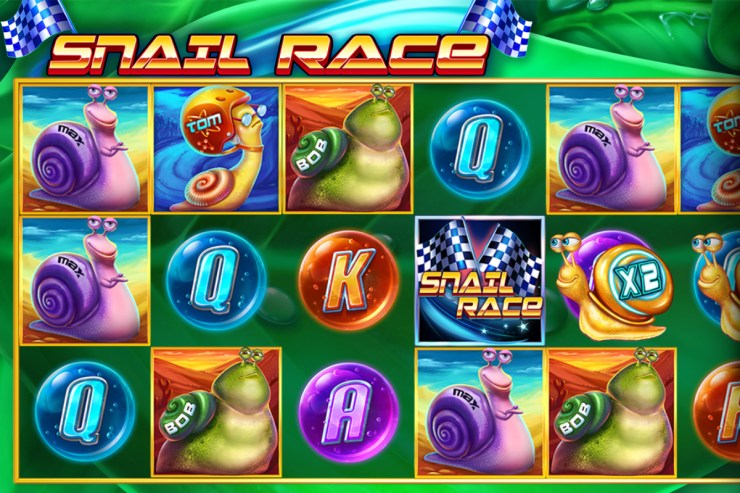 Booming Games l- Snail Race