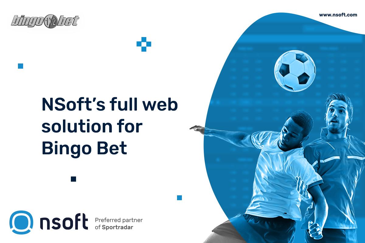 NSoft's full web solution for Bingo Bet