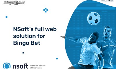 NSoft's full web solution for Bingo Bet