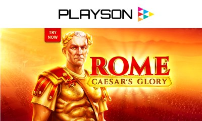 Join the battle to legendary wins with Playson's latest slot Rome: Caesar's Glory
