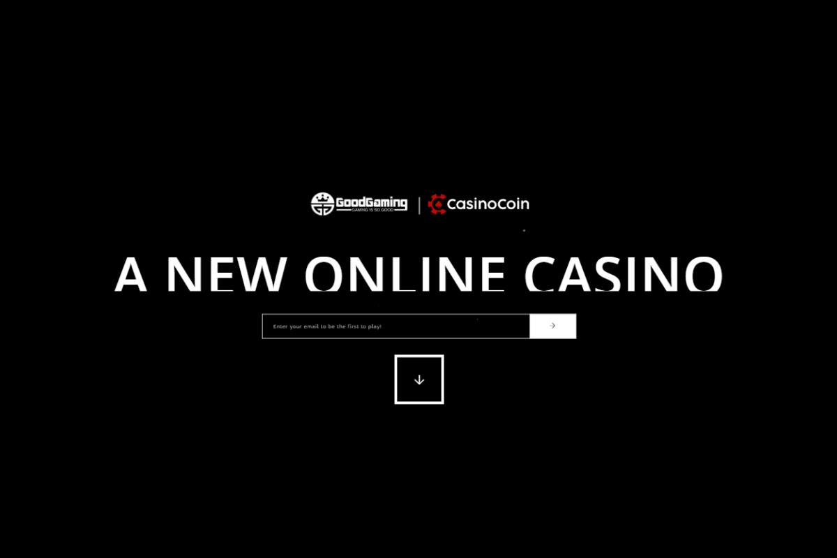 GoodGaming to launch new CasinoCoin-powered brand