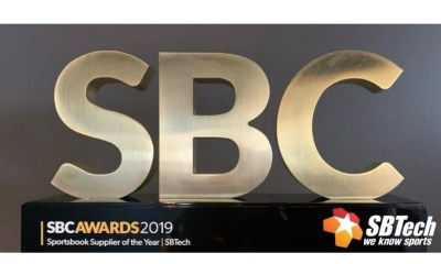 SBTech wins Sportsbook Supplier of the Year at SBC Awards 2019