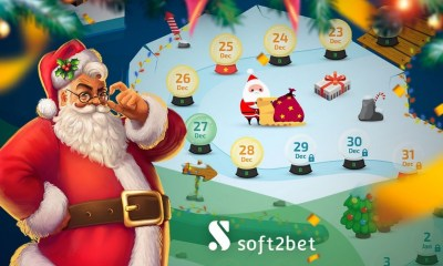 Soft2Bet brings the festive cheer with promotions on seven brands