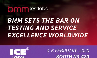 BMM Sets the Bar on Testing and Service Excellence Worldwide - ICE London 2020
