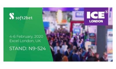Soft2Bet to showcase global B2B portfolio at ICE 2020