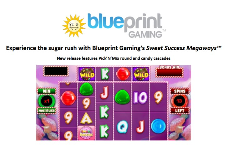 Experience the sugar rush with Blueprint Gaming's Sweet Success Megaways™