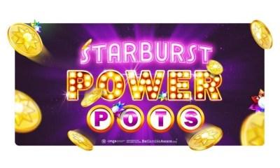 NetEnt unveils groundbreaking community jackpot system: Starburst PowerPots